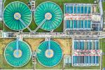 Humidity control in water treatment plants